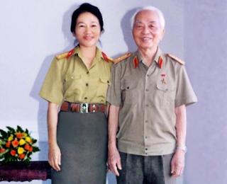 Tôi vinh dự được chụp ảnh với Đại tướng