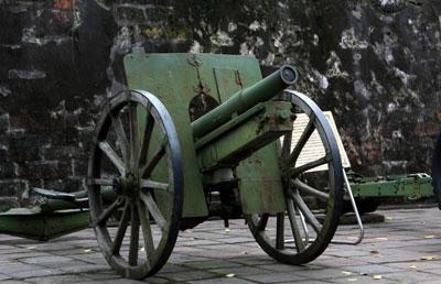 Khẩu sơn pháo 75mm và Anh hùng LLVT Phùng Văn Khầu