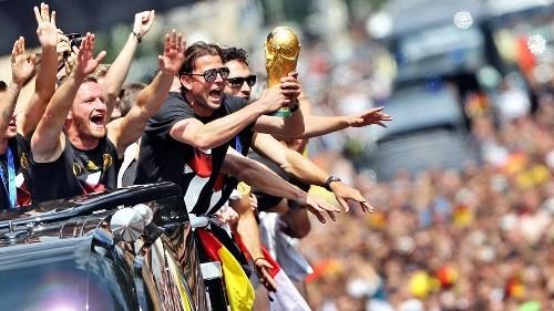 Berlin mở hội chào đón đội tuyển Đức