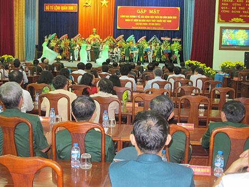 Quân khu 7: Gặp mặt kỷ niệm 60 năm Ngày Thầy thuốc Việt Nam