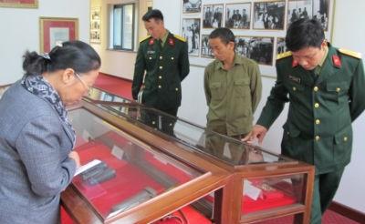 Thăm nhà lưu niệm Đại tướng Nguyễn Chí Thanh ở Hà Nội
