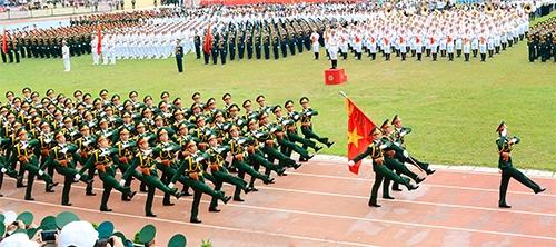 Phát huy truyền thống anh hùng, đẩy mạnh xây dựng quân đội cách mạng, chính quy, tinh nhuệ, từng bước hiện đại
