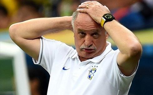HLV Scolari của ĐT Brazil chính thức từ chức
