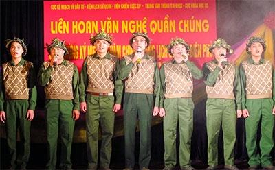 Tưng bừng các hoạt động văn hóa-nghệ thuật hát mừng Chiến thắng Điện Biên Phủ