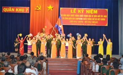Tiếp tục vun đắp tình đoàn kết hữu nghị Việt Nam – Cam-pu-chia