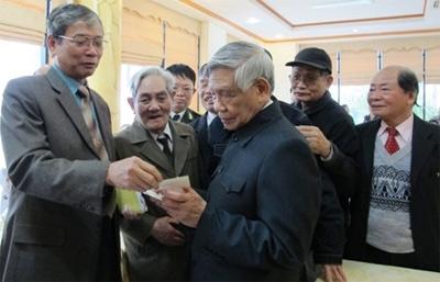 Ban liên lạc CCB Cơ quan Chính trị Bộ tư lệnh 719 gặp mặt truyền thống