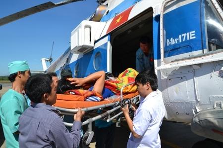 Tác nghiệp trên những chuyến bay cấp cứu