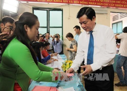 Danh sách 105 người trúng cử đại biểu HĐND Thành phố Hồ Chí Minh khóa IX, nhiệm kỳ 2016-2021 (xếp theo vần A,B,C...)