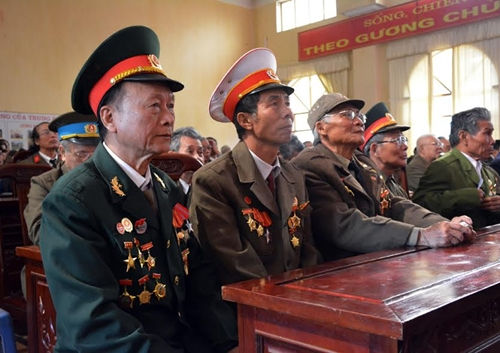 Gặp mặt truyền thống Trung đoàn Thủ đô