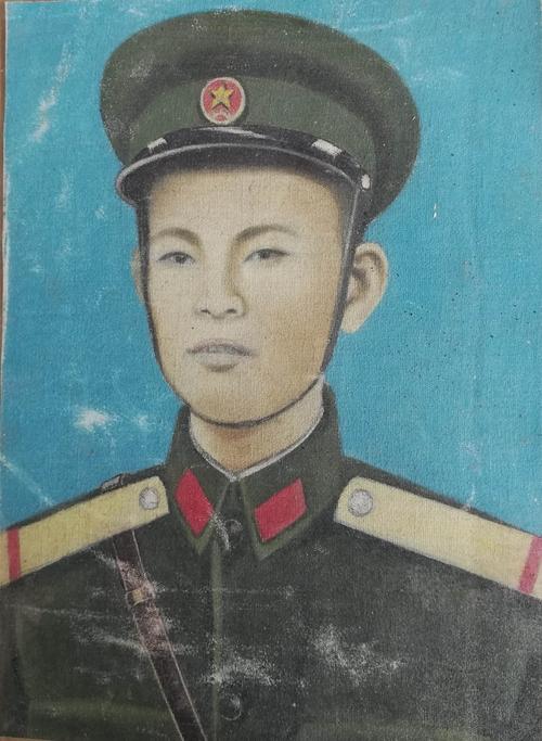 Phần mộ liệt sĩ Nguyễn Văn Tính ở gần suối Mường La (huyện Mường Khoa, Lào)