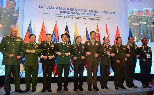 Hội nghị không chính thức Tư lệnh Lực lượng Quốc phòng các nước ASEAN lần thứ 14 thành công tốt đẹp
