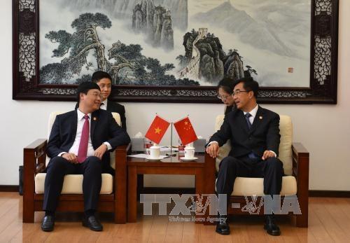 Hoạt động giao lưu thanh niên Việt Nam - Trung Quốc góp phần củng cố quan hệ hai nước 