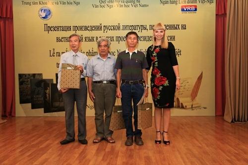 Văn học Nga trở lại Việt Nam!