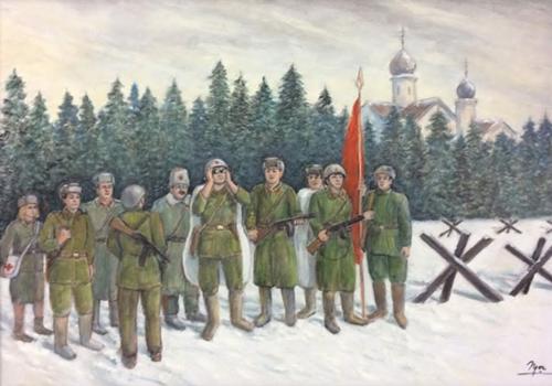 """Trưng bày 100 tác phẩm tranh sơn dầu, màu nước """"Kỷ niệm - Một thời Xô viết"""""""