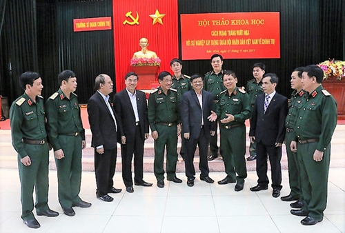 Khẳng định ý nghĩa Cách mạng Tháng Mười Nga với sự nghiệp xây dựng Quân đội nhân dân Việt Nam về chính trị