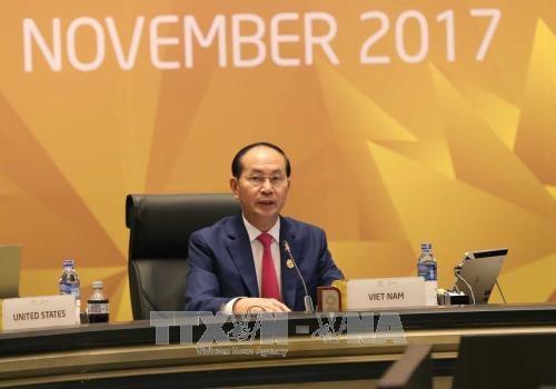 Bài phát biểu của Chủ tịch nước Trần Đại Quang tại Hội nghị Cấp cao APEC lần thứ 25