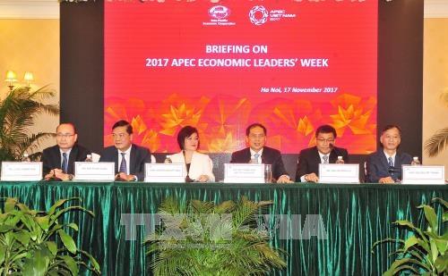 Thông báo kết quả Tuần lễ Cấp cao APEC 2017 tới Cơ quan đại diện nước ngoài và các tổ chức quốc tế tại Hà Nội