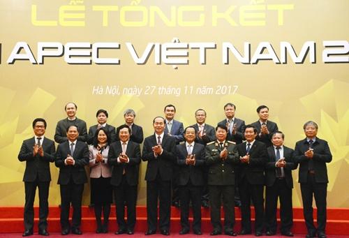 Thành công của Năm APEC 2017 tạo động lực mới cho đất nước hội nhập quốc tế sâu rộng