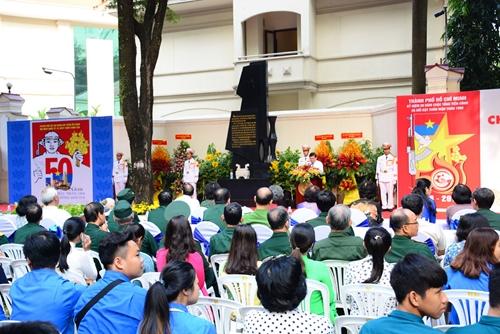 Khánh thành Bia Tưởng niệm chiến sĩ Biệt động Sài Gòn hy sinh trong Tổng tiến công và nổi dậy Xuân Mậu Thân 1968