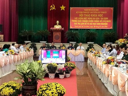 Tri ân và tôn vinh những chiến công của Biệt động Sài Gòn – Gia Định