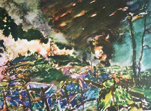 Đường 9-Khe Sanh, Xuân Mậu Thân 1968 qua tranh ký họa