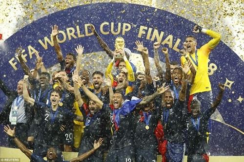 Thắng Croatia 4-2, đội tuyển Pháp vô địch World Cup 2018