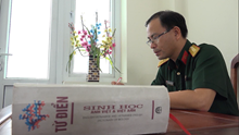 Đại úy, Tiến sĩ Nguyễn Phượng Minh với niềm say mê nghiên cứu khoa học