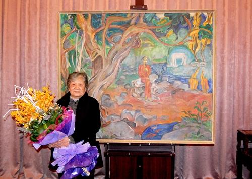 Nữ họa sĩ quảng bá văn hóa dân tộc qua tranh