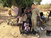 """Major Đỗ"" ở Nam Sudan"