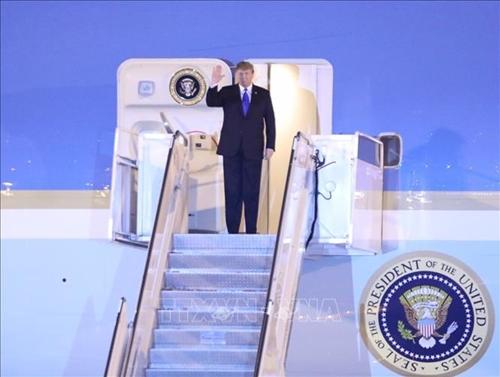 Tổng thống Hoa Kỳ Donald Trump đến Việt Nam