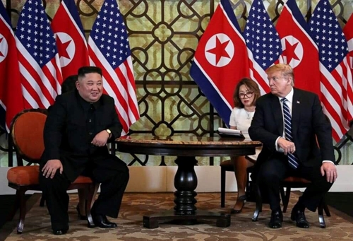 Chủ tịch Triều Tiên Kim Jong Un và Tổng thống Mỹ Donald Trump gặp thượng đỉnh