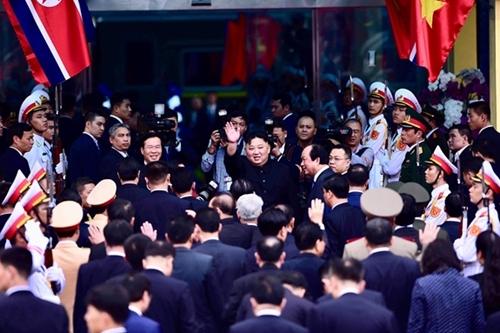 Chủ tịch Triều Tiên Kim Jong Un rời ga Đồng Đăng, kết thúc chuyến thăm hữu nghị chính thức Việt Nam