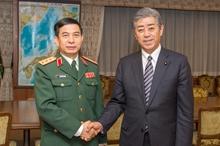 Thúc đẩy hợp tác quốc phòng Việt Nam - Nhật Bản