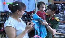 Ấm áp yêu thương ở Hội Phụ nữ Bộ CHQS tỉnh Nghệ An