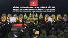 Cử hành trọng thể Lễ tang nguyên Chủ tịch nước, Đại tướng Lê Đức Anh
