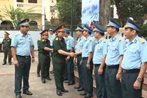 Đại tướng Ngô Xuân Lịch thăm và làm việc tại Bộ tư lệnh Binh đoàn 18