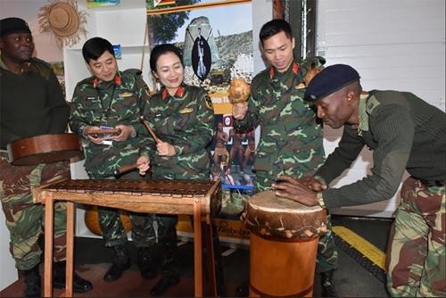 """Ấn tượng """"góc Việt Nam"""" ở Nhà Hữu nghị Army Games 2019"""