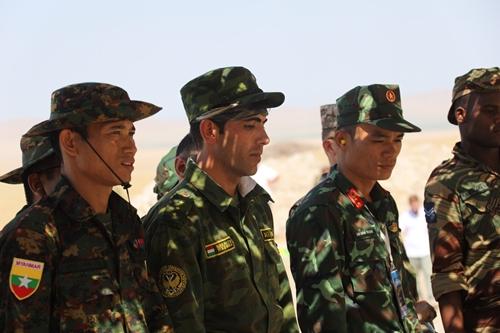 Ngày thi đầu tiên suôn sẻ của Đội tuyển Quân y của QĐND Việt Nam