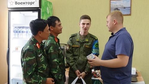 Đội tuyển Công binh giới thiệu ẩm thực Việt ở Tyumen, LB Nga