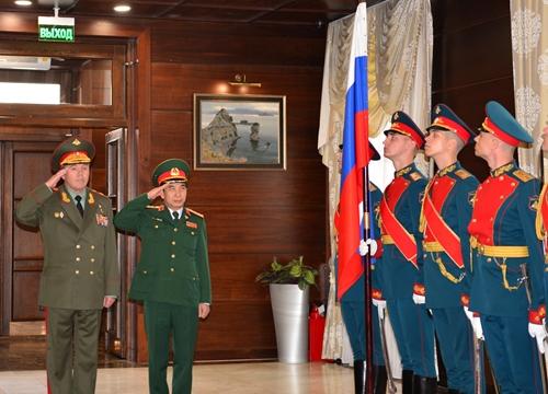Tăng cường hợp tác quốc phòng Việt Nam - Liên bang Nga theo hướng lâu dài, thiết thực và tin cậy