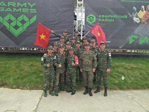 Đội tuyển Cứu hộ Cứu nạn giành huy chương Đồng