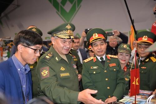 Thượng tướng Phan Văn Giang dự Lễ bế mạc Army Games 2019