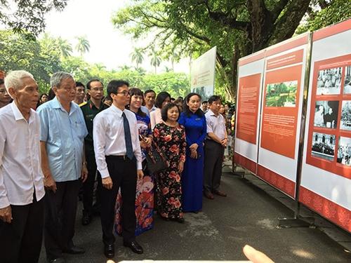 """Hội thảo, triển lãm chủ đề """"50 năm bảo tồn và phát huy giá trị Khu di tích Chủ tịch Hồ Chí Minh tại Phủ Chủ tịch"""