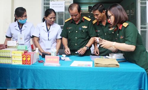 Chủ động chăm sóc tốt sức khỏe bộ đội ngay tại cơ sở