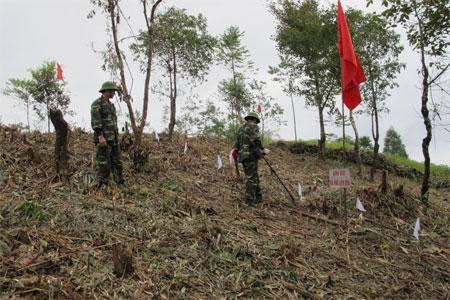 Quân đội phát huy vai trò xung kích trong khắc phục hậu quả chiến tranh
