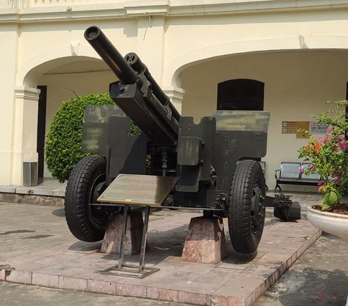 Khẩu pháo bắn mở màn Chiến dịch Điện Biên Phủ