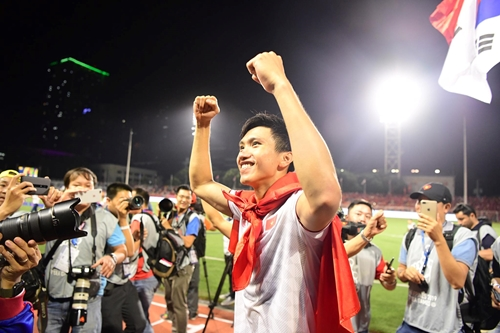 SC Heerenveen chung vui với Đoàn Văn Hậu và U22 Việt Nam