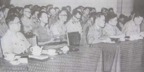 Nâng cao chất lượng công tác tham mưu, xây dựng đội ngũ cán bộ quân đội