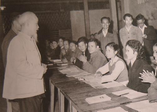 Chủ tịch Hồ Chí Minh với công tác xây dựng Đảng