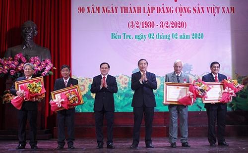 Tỉnh Bến Tre tổ chức kỷ niệm 90 năm ngày thành lập Đảng Cộng sản Việt Nam